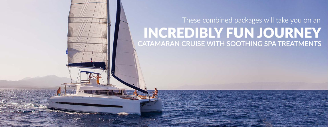 Combined Catamaran Cruise & Activity Packages
